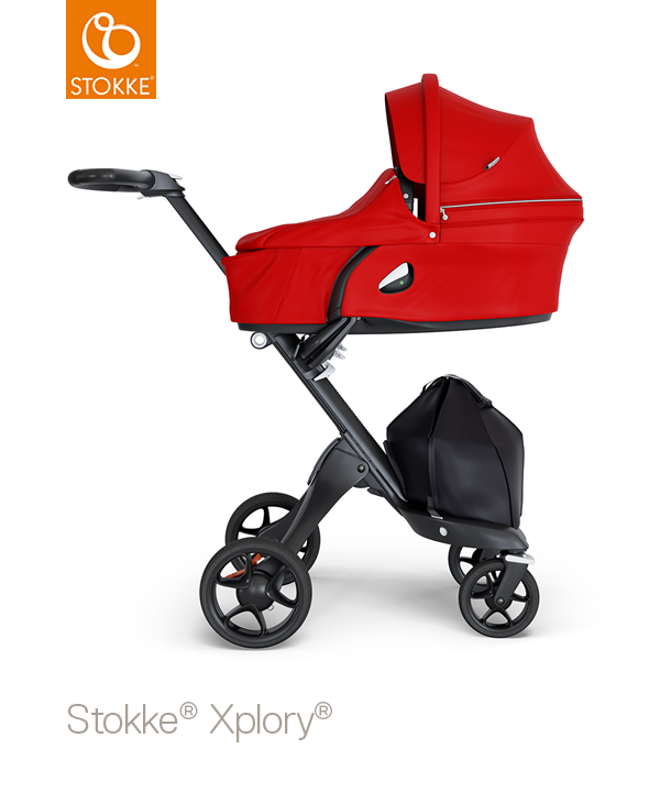 Stokke® Xplory® V6 Compleet Black - Black Handle