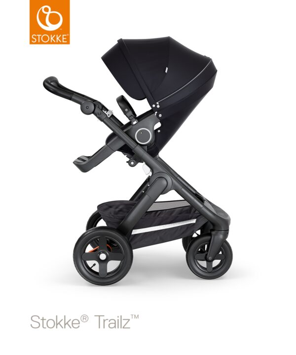 Stokke®Trailz™ Terreinwielen - Black/Black Handle