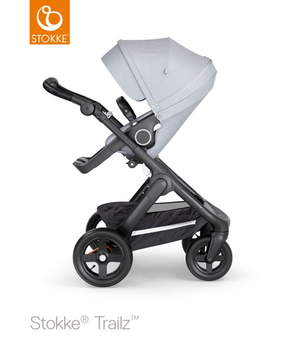 Stokke®Trailz™ Terreinwielen - Black/Black Handle